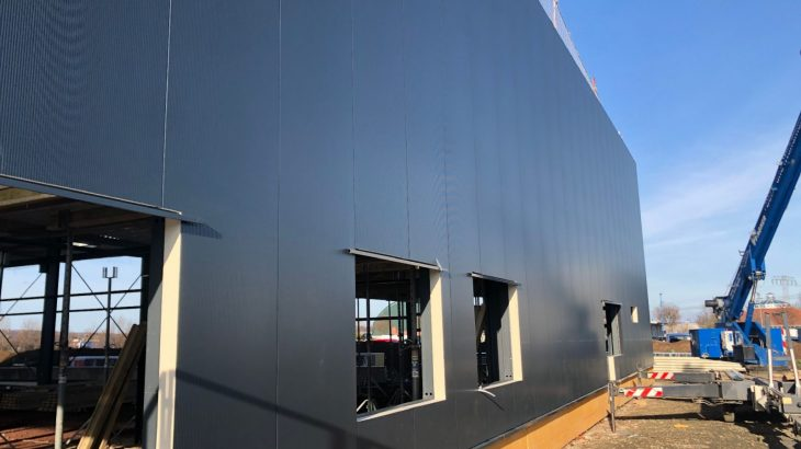 Die neue Außenfassade