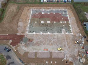 Fundament, Neubau, UFG Gotha