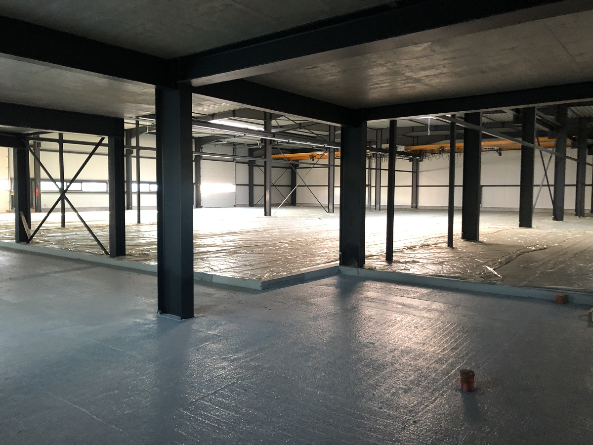 New building, construction, UFG Gotha