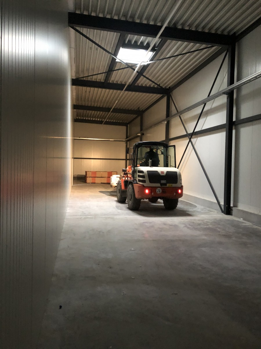 Innen ist einiges passiert. | Neubau | UFG Umformtechnik GmbH